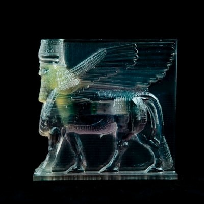 How to polish 3D printed clear resin models that contain many details by Morehshin Allahyari