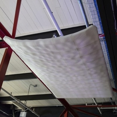 Liminal Mass: 3D Printed Ceiling by Bryan Allen & Stephanie Smith