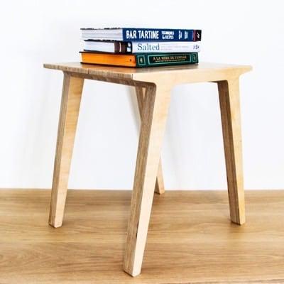 Shopbot + Birch Ply = End Table by Aleksis Bertoni