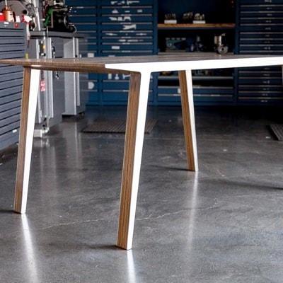 Slipstream Table by Aleksis Bertoni