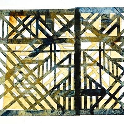 Kombucha Fabric by Andrea Blum