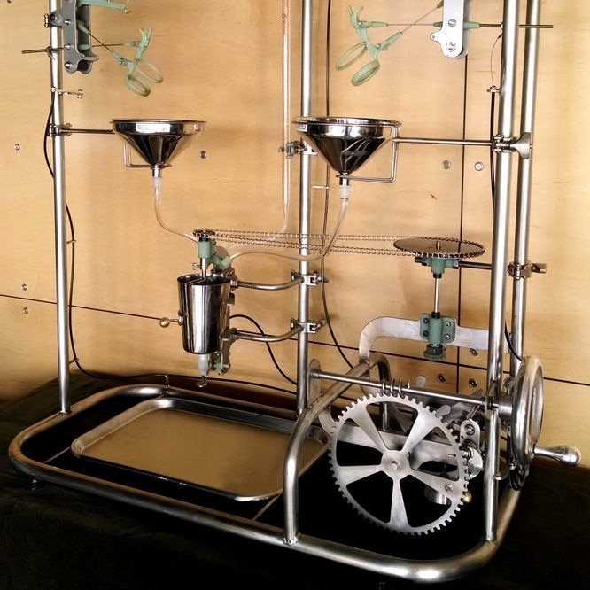 The Manhattan Project: a Mechanical Cocktail Mixer by Benjamin Cowden