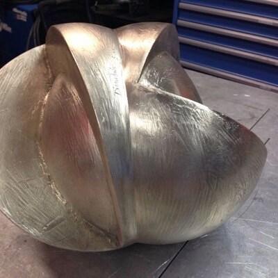 Bronze Fabrication and Patination by Albert DiCruttalo