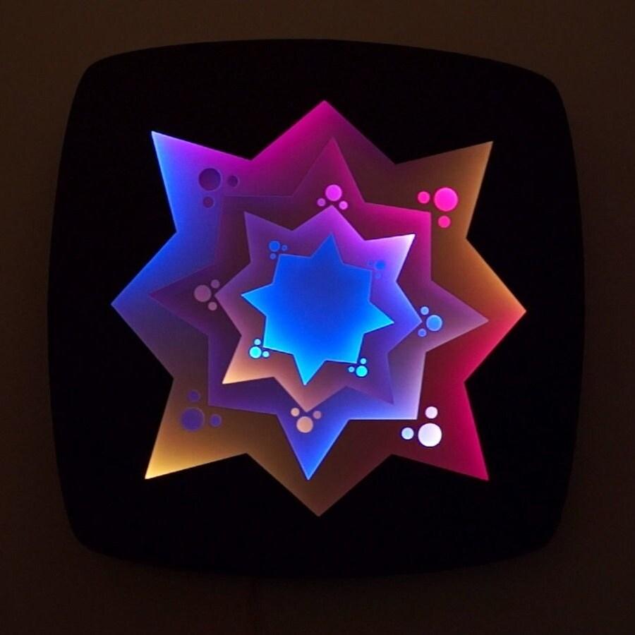 Concave Hexadecagon by Craig Dorety