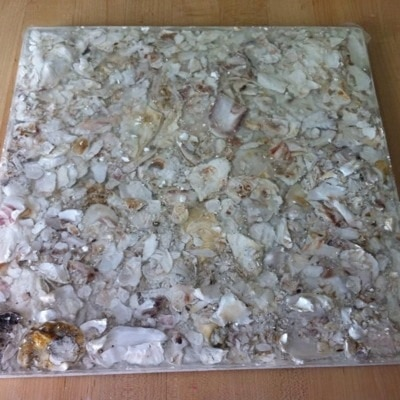 Oyster Shell Tile by Maria Finn