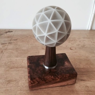 Ommatid Spherical Display by Jonathan Foote
