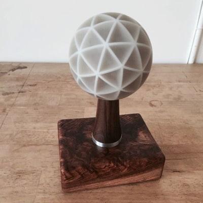 Ommatid Spherical Display by Jonathan Foote