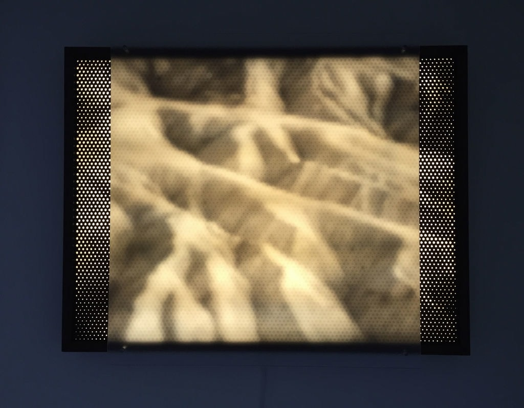 Halftone Light Panel series by Eric Forman