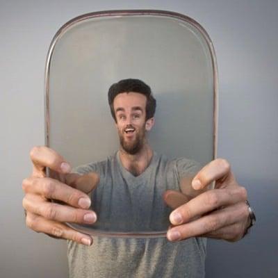 3D Printed Weird Lenses by Robb Godshaw