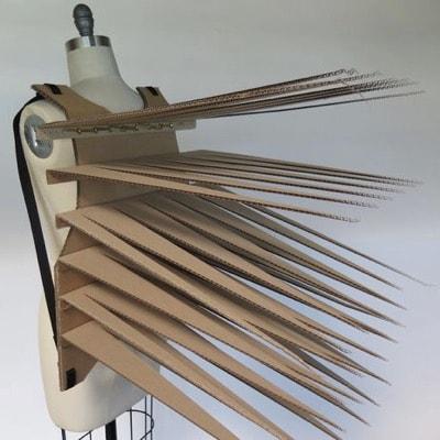 Porcupine Vest by Kate Hartman