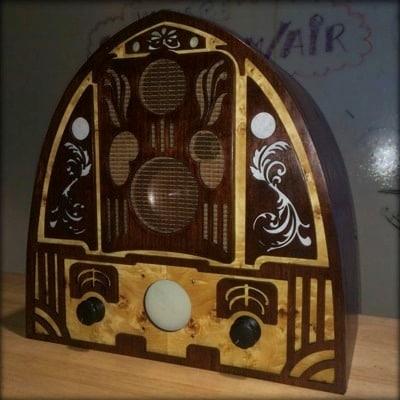 Anachronistic Audio Cathedral Radio by Joe Martin