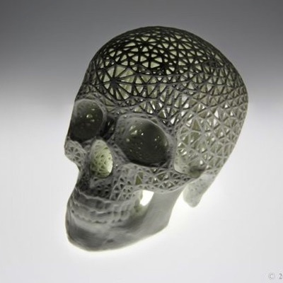 Mesh Pattern & Lightweight 3D Prints by Amy Karle