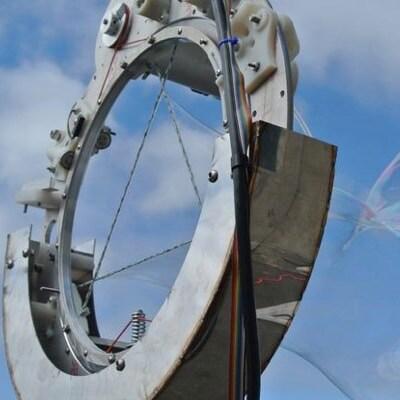 The CNC Bubble Iris: A Computer Controlled Giant Bubble Machine by Gordon Kirkwood