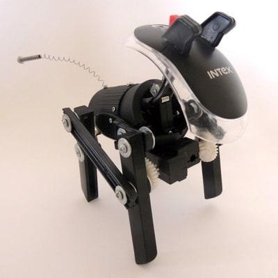 Robo-Dog by Mario Caicedo Langer
