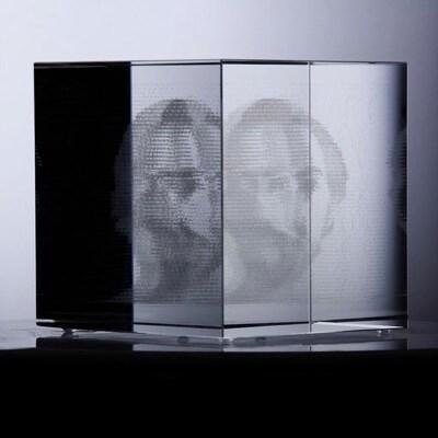 3D Pixel Collider (3D Print) by Sebastian Morales