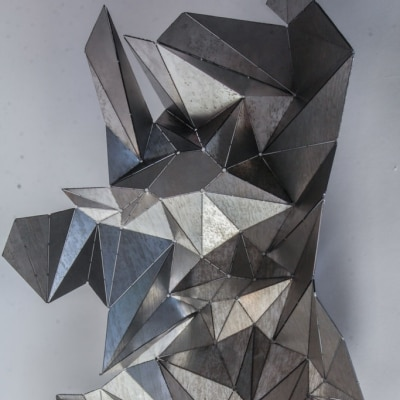 Algorithmic Origami by Pushan Panda