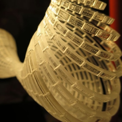 3D Sewing: Rings with Strings by Hannah Perner-Wilson