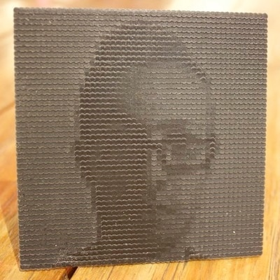 3D Printed Photo by Aaron Porterfield