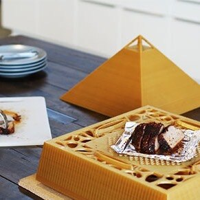 The Shape of Things to Come - 3D Printed Oven by Carlo Quinonez