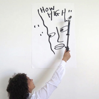 Draw High by Shantell Martin