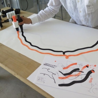 Marker Connector by Shantell Martin