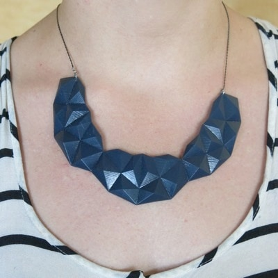 3D Printed Necklace by Stephanie Smith