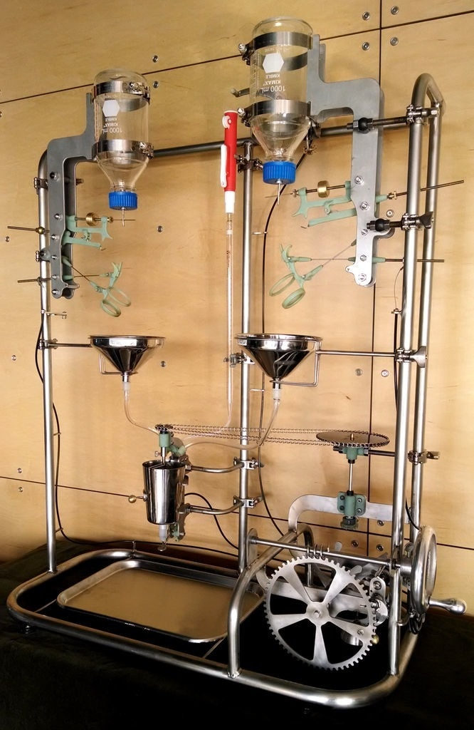 """""""The Manhattan Project: a Mechanical Cocktail Mixer"""" by Benjamin Cowden"""
