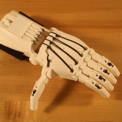 Thermoforming 3D Printed PLA for Use in Prosthetics by Andreas Bastian