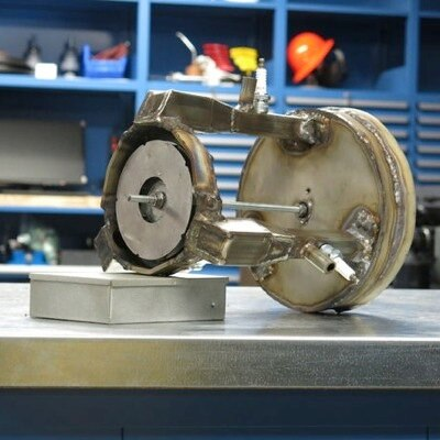 Jet Engine by Adam Fasnacht