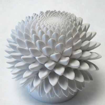 Blooming Zoetrope Sculptures by John Edmark