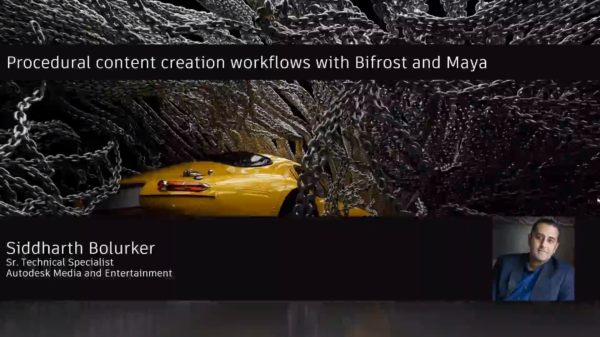 Creating VFX with new Maya Bifrost webinar