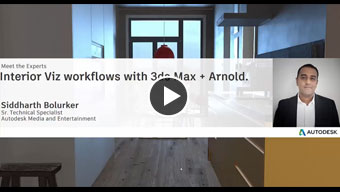 Interior Visualization workflows with 3ds Max and Arnold