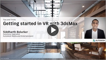 Getting started in VR with 3ds Max Interactive
