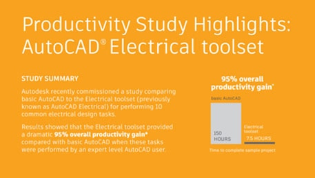 Productivity Study Highlights: AutoCAD® Electrical