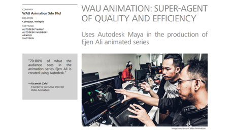Customer story – Wau Animation