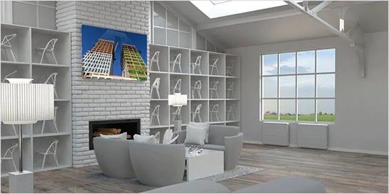 建築図面の作成での間取り図の種類、3D フロア プランとは
