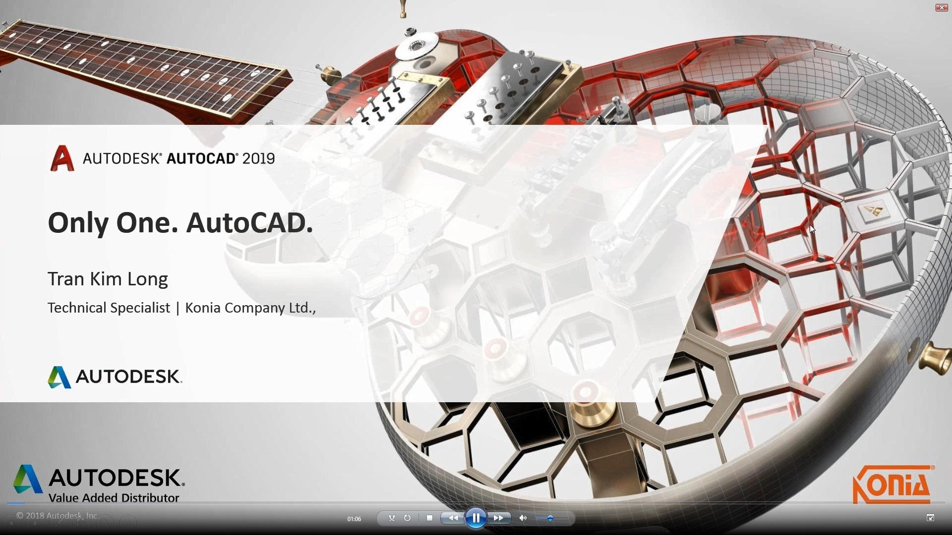 Cải Thiện Năng Suất Với AutoCAD 2019: Bộ công cụ kiến trúc