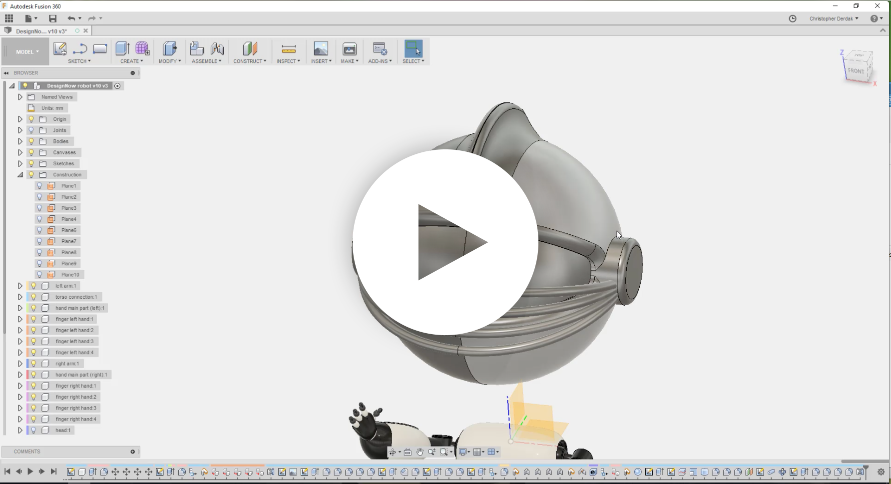 Design and make anything with Fusion 360