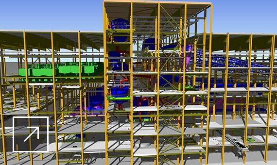 Внедрение технологии 3D-моделирования для сложных промышленных объектов