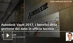 Autodesk Vault, i benefici della gestione dati in ufficio tecnico