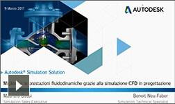 Migliorare le prestazioni fluidodinamiche grazie alla simulazione CFD in progettazione - 9/03/2017