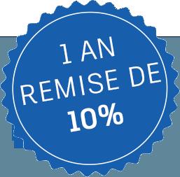 10% discount bubble