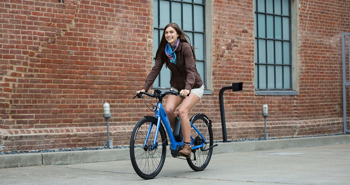 Ebike designed specifically for women