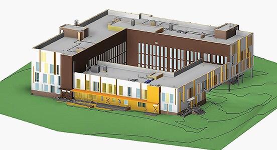 Строительство медицинского центра Hoar Construction