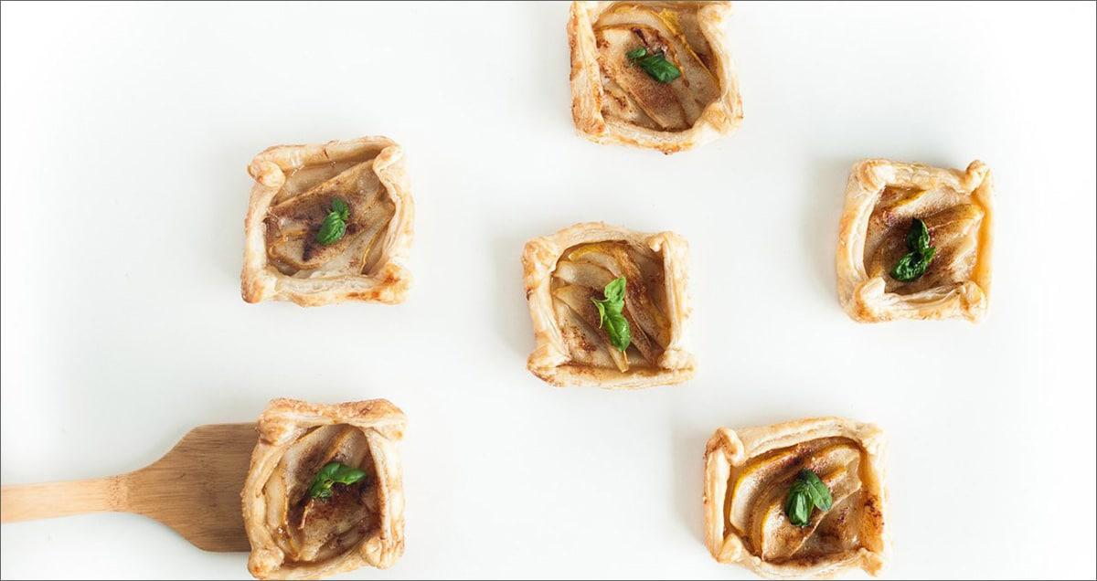 pear-basil-tarts