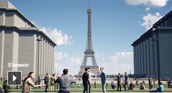 Grand site tour Eiffel : le projet lauréat du concours