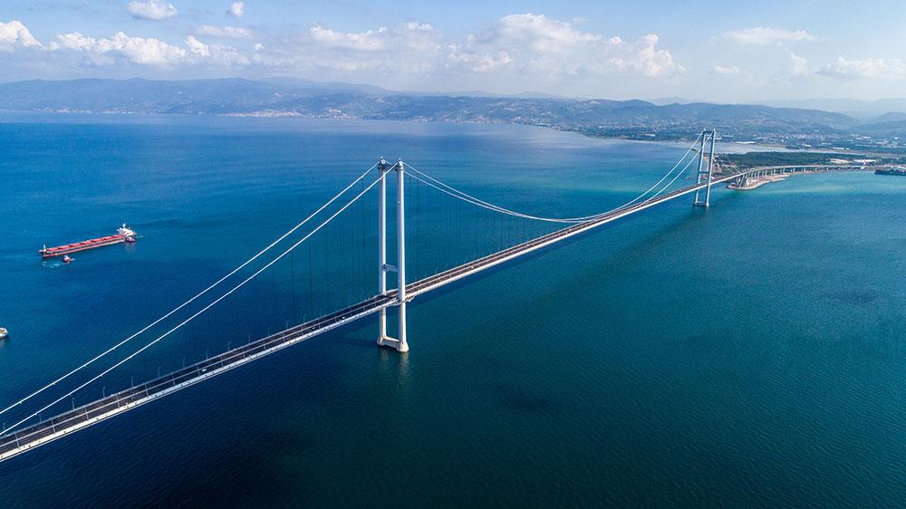 Osmangazi İzmit Körfez Köprüsü