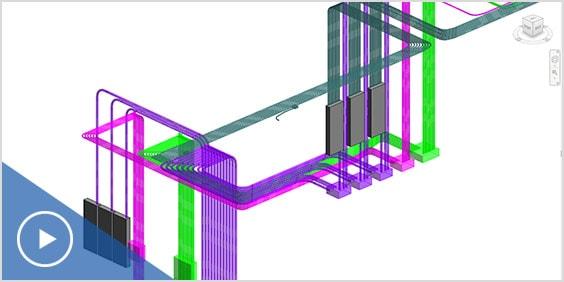 3D Revit model for electrical