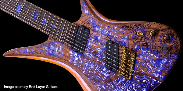 designing guitars and a new career with autocad