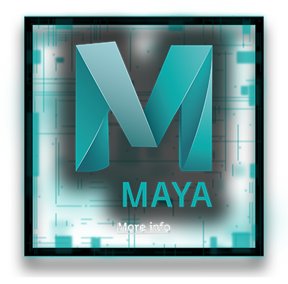 Maya clickable logo